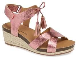 Lucky Brand Jelessa Glittery Wedge Sandal