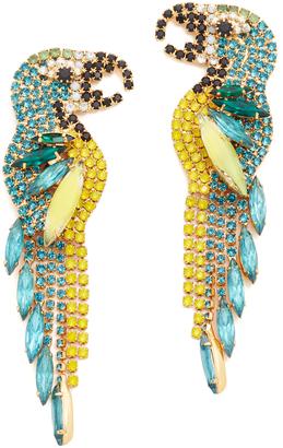 Elizabeth Cole Zazu Earrings $338 thestylecure.com