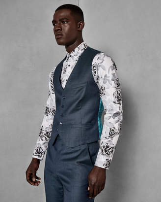 Ted Baker STRONGW Slim fit wool vest