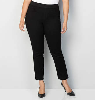 Avenue Butter Denim Pull-On Skinny Jean in Black