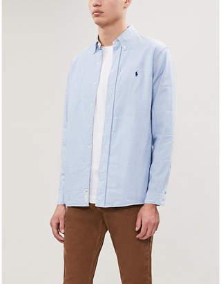 Polo Ralph Lauren Padded regular-fit twill shirt