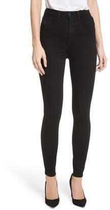 L'Agence Katrina Ultra High Waist Skinny Jeans