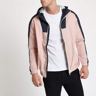 River Island Jack and Jones pink Originals jacket