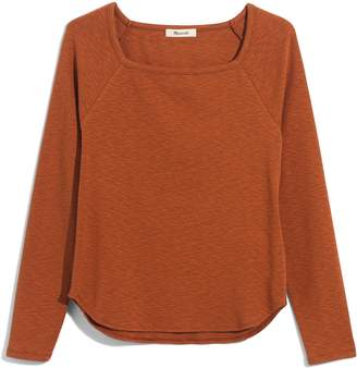 new arrival bda8f c4dc5 Madewell Square Neck Long Sleeve Tee