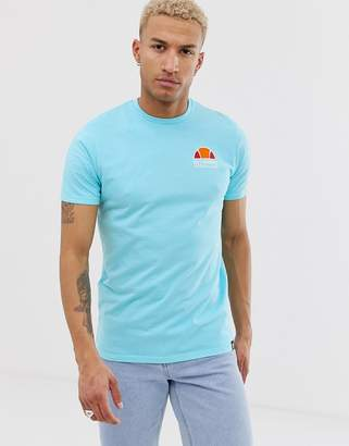 Ellesse Cuba t-shirt with back print in blue