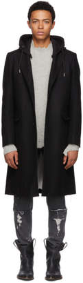 Diesel Black W-Dexter Coat