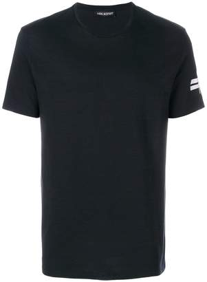 Neil Barrett printed sleeve T-shirt