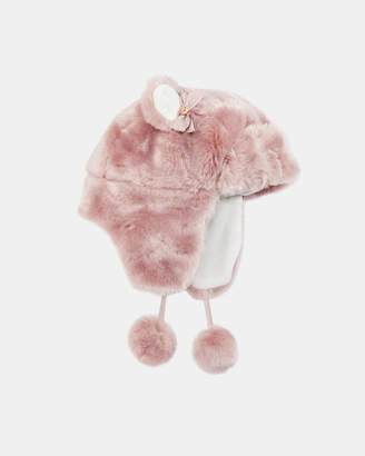 Ted Baker FLUFFIE Faux fur trapper hat