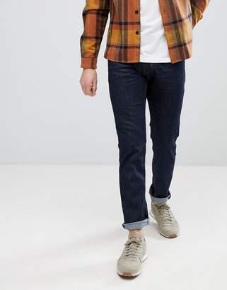 Esprit Slim Fit Jeans In Raw Indigo Denim