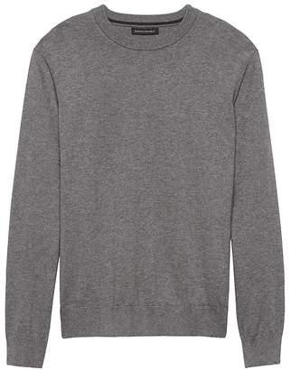 Banana Republic Premium Cotton Cashmere Crew-Neck Sweater