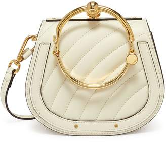 Chloé 'Nile' small bracelet handle quilted crossbody bag