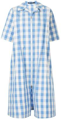 Sofie D'hoore oversized check shirt