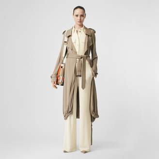 Burberry Jersey Wide-leg Trousers