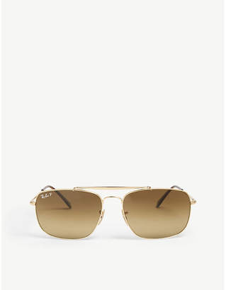 9d3b8cc64f Ray-Ban RB3560 The Colonel square-frame sunglasses