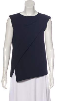 Alberta Ferretti Sleeveless Wool-Blend Top