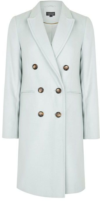 Topshop Topshop Double breasted coat