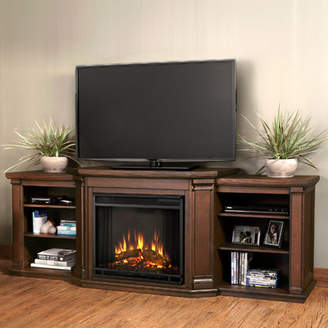 Real Flame Valmont 75.5 TV Stand with Gel Fireplace