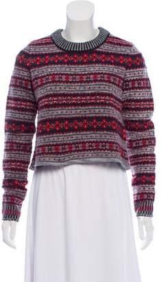 Rag & Bone Printed Wool Sweater