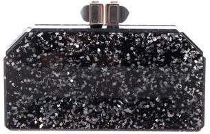 Judith Leiber Paillettes Faceted Box Clutch