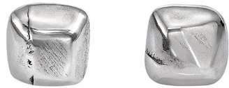 Uno de 50 B12 Irregular Cube Stud Earrings
