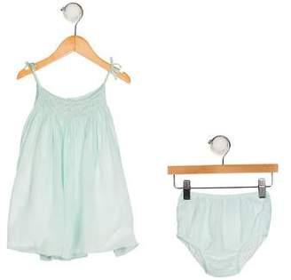 Ralph Lauren Girls' Silk Two-Piece Set