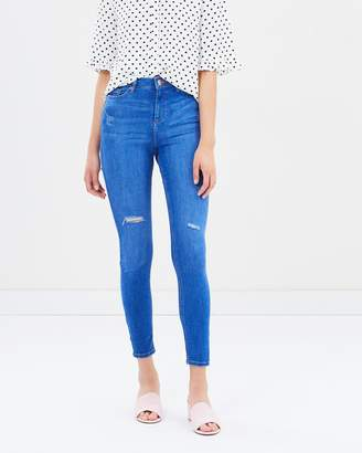 Miss Selfridge Ripped Lizzie Jeans