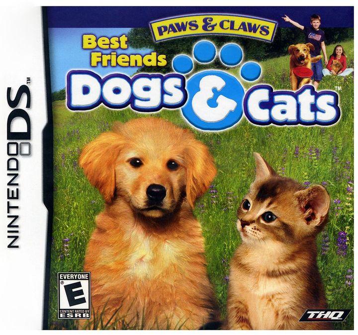 Nintendo ds TM paws & claws: best friends dogs & cats TM