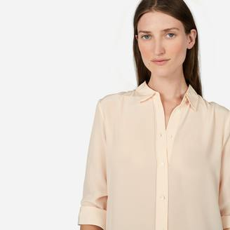 The Relaxed Silk Shirt $88 thestylecure.com