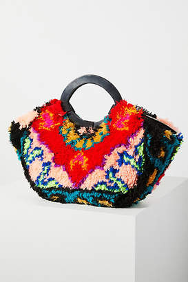 Anthropologie Iona Ring-Handled Tote Bag