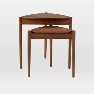 west elm Retro Tripod Nesting Tables