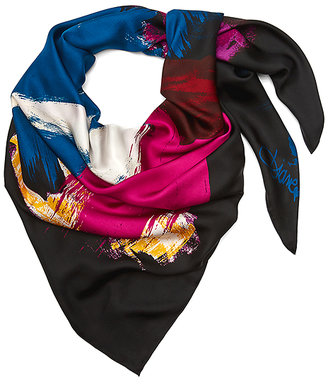 Woven Silk Scarf $158 thestylecure.com