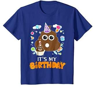 It's My Birthday Poop T-Shirt