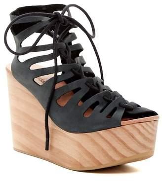 Musse & Cloud Oneka Lace-Up Platform Sandal