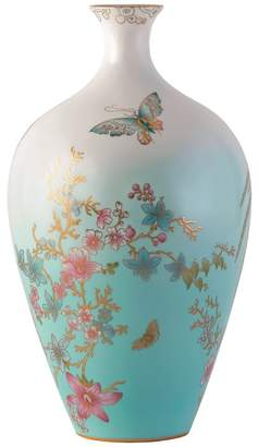 Wedgwood Jade Butterly Limited Edition Vase