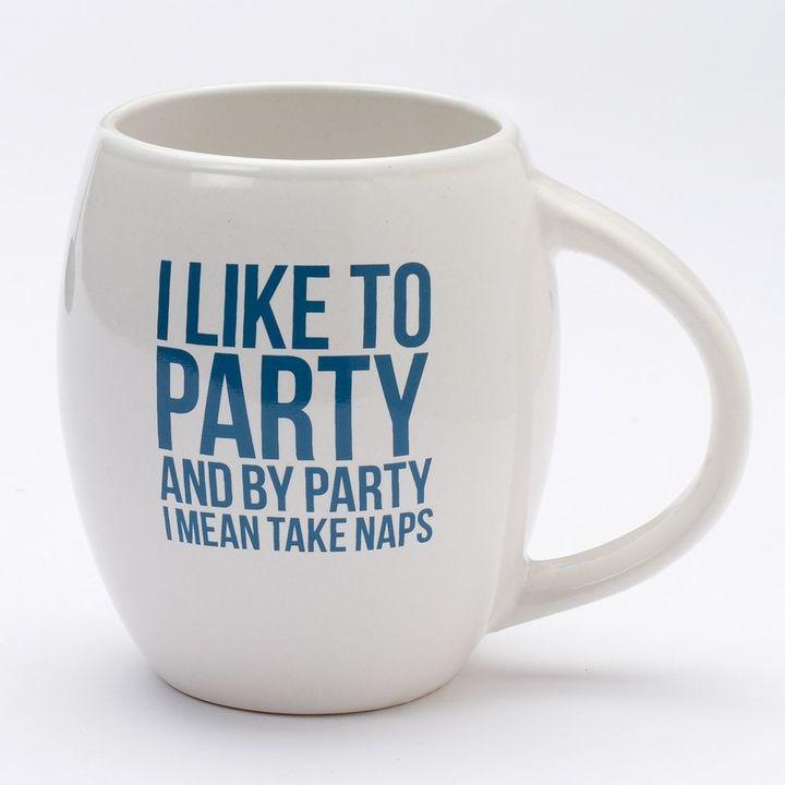 Party and Take Naps 19-oz. Coffee Mug