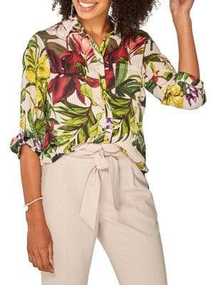 Dorothy Perkins Tropical Printed Blouse