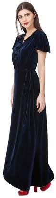 Hale Bob Jovina Velvet Wrap Dress
