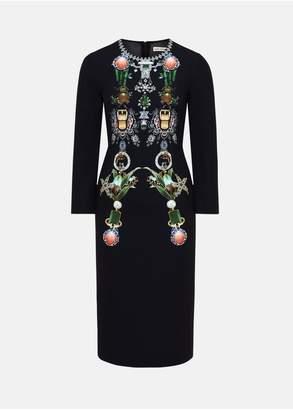 Mary Katrantzou Naomi Dress Multi Jewellery
