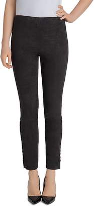 Lysse Mission Faux Suede Lace-Up Leggings