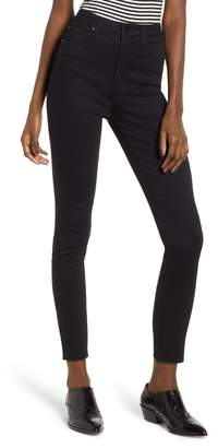 Leith Super High Waist Ankle Skinny Jeans