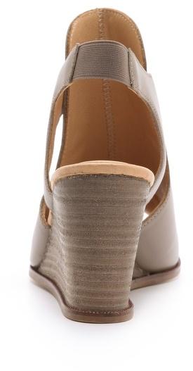 Maison Martin Margiela Sling Wedge Sandals