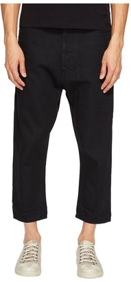Vivienne Westwood - Anglomania Lee Kidd Samurai Jeans in Black Men's Jeans $330 thestylecure.com
