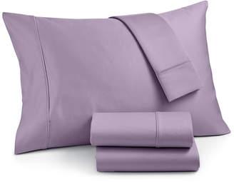 Aq Textiles Landry 4-Pc. Queen Sheet Set, 1200 Thread Count Combed Cotton Bedding