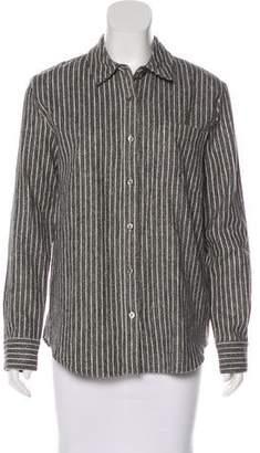 Jenni Kayne Striped Button-Up Top