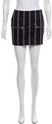 Elizabeth and James Wool-Blend Mini Skirt w/ Tags