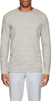 Officine Generale MEN'S COTTON JERSEY LONG-SLEEVE T-SHIRT