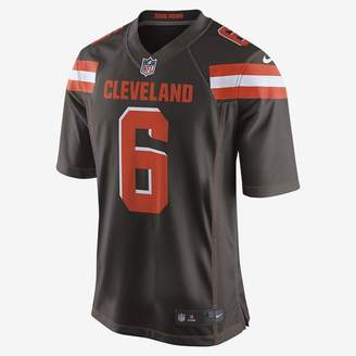 12b24bf7aa4 Nike Men s Game Football Jersey NFL Cleveland Browns (Baker Mayfield)