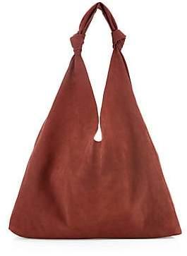 The Row Women's Bindle Double Knot Suede Hobo Bag
