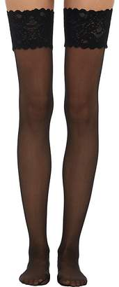 Wolford Women's Satin Touch 20 Stay-Up Stockings