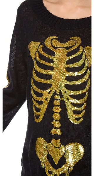 Wildfox Couture I am Gold Sweater